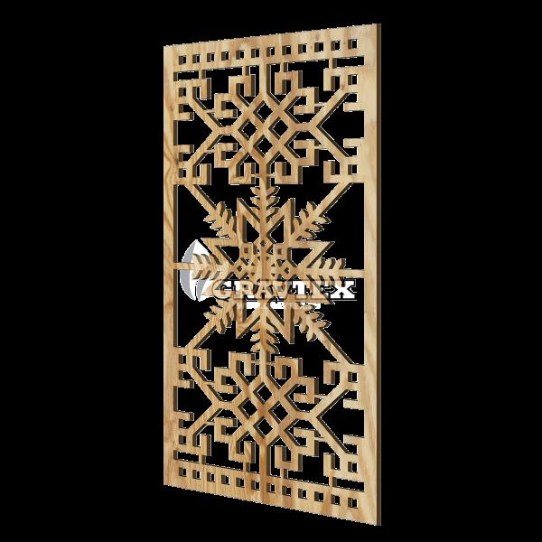 Декоративная панель для стены LRZ06
