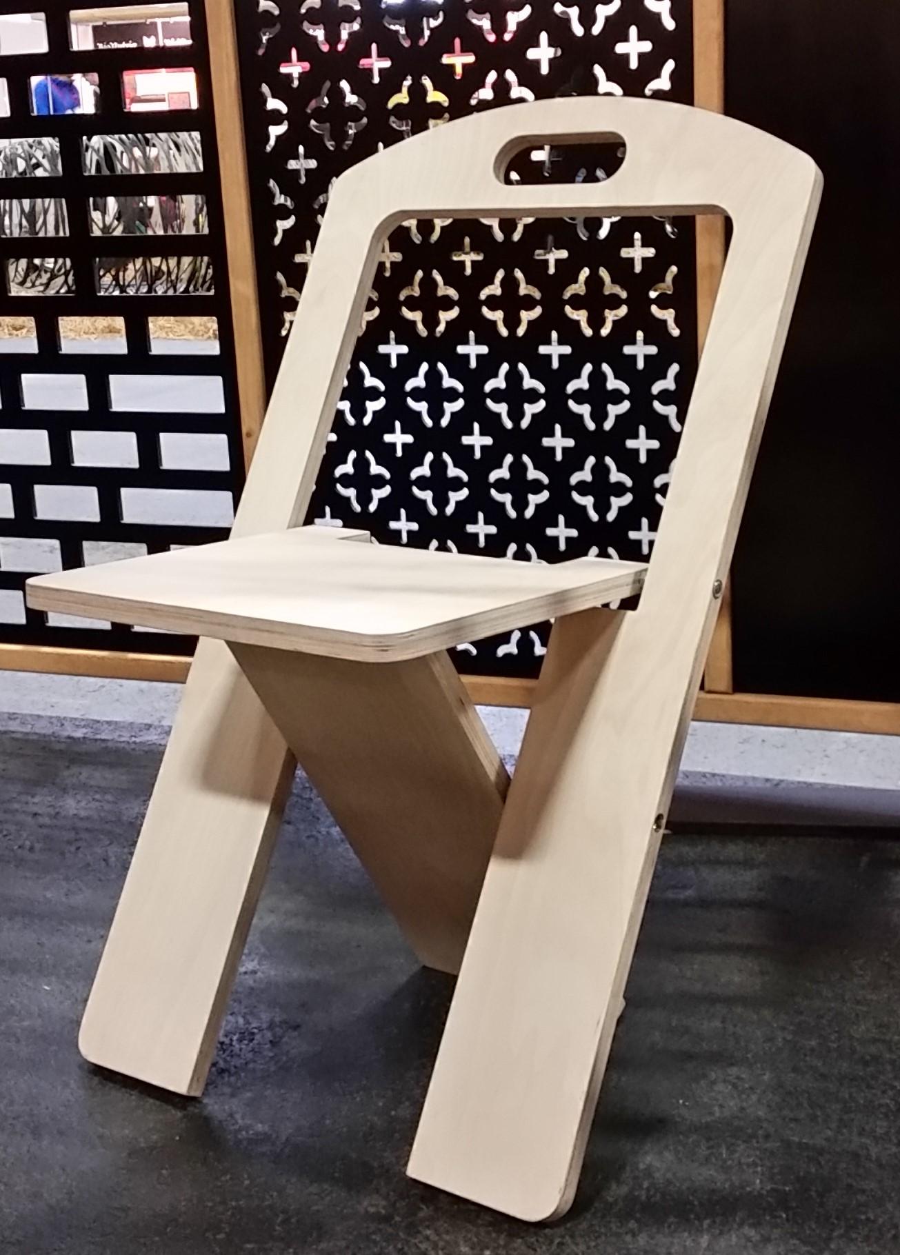 Кресло складное туристическое из древесины своими руками