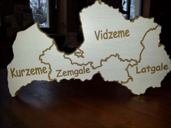 "Lettlands Kontur ""Reģioni"""