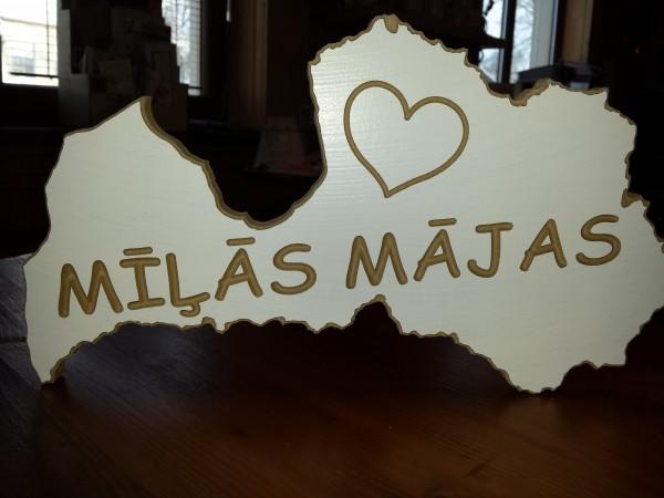 """Lettlands Kontur """"Mīļās mājas"""""""