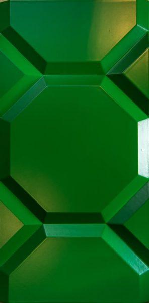 3D sienu panelis Corner