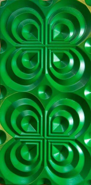 3D sienu panelis Semicircle