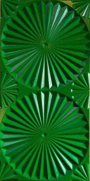 3D sienu panelis Grill