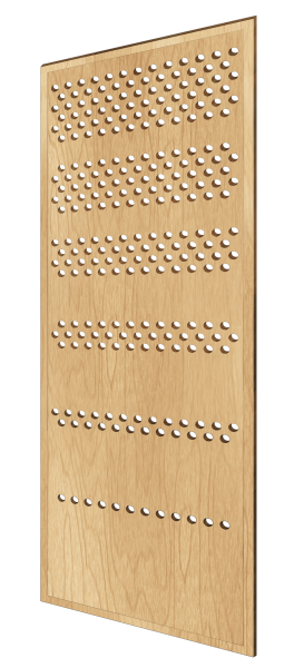 Scandinavian-style decorative wall panel Dotted