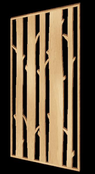 Scandinavian-style decorative wall panel Woods