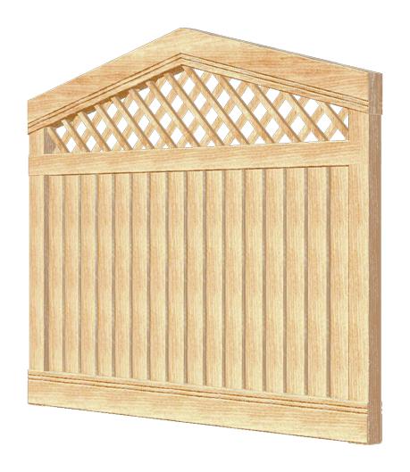 Деревянный забор PABLO 180