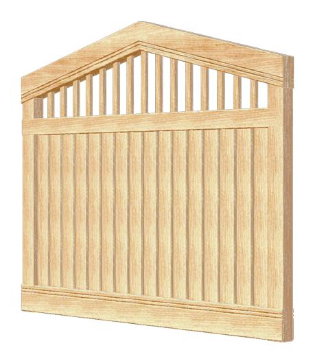 Деревянный забор HERCULES 180