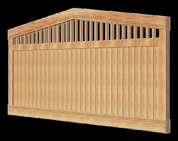 Деревянный забор HERCULES 280