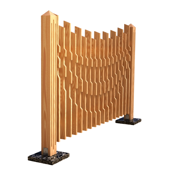 Decorative fence panel AERO 180