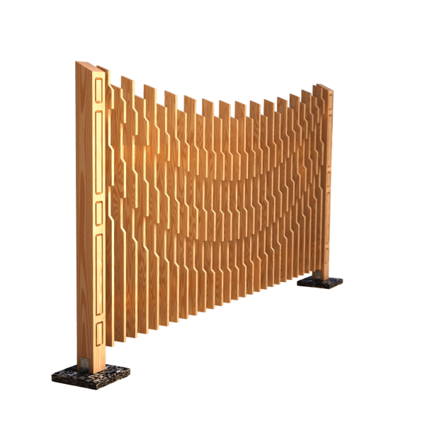 Decorative fence panel AERO 280