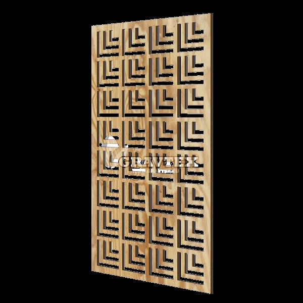 Декоративная панель для стены Angle