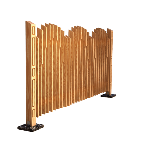 Decorative fence panel BOW 280