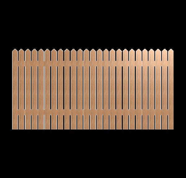 Деревянный забор CLASSIC 280