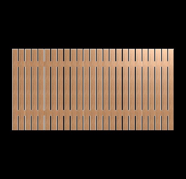 Деревянный забор OXFORD 280