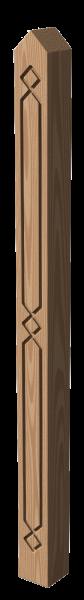 Holzpfosten Nr.2