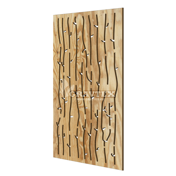 Decorative wall panel STICKO