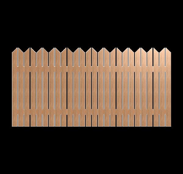 Деревянный забор TWINS 280