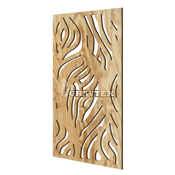 Decorative wall panel ZEBRA