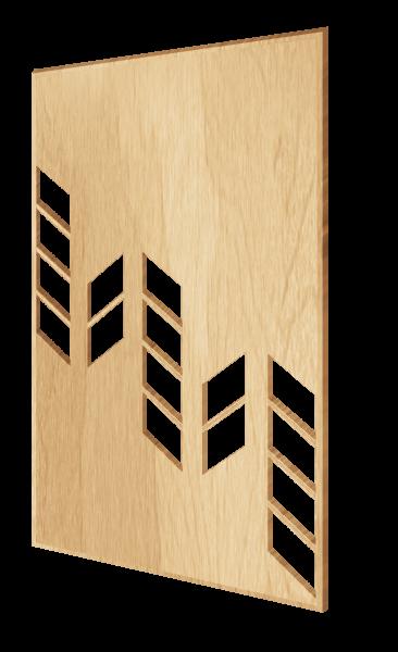 Декоративная стеновая панель в скандинавском стиле House
