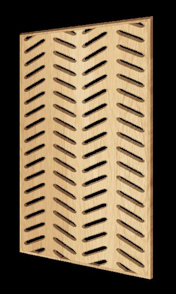Scandinavian-style decorative wall panel Foxtail