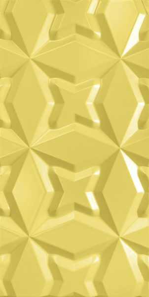 3d wall panel Stars Yellow