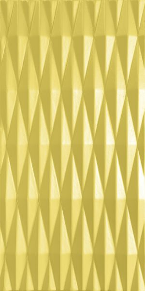 3d wall panel Rombs Yellow
