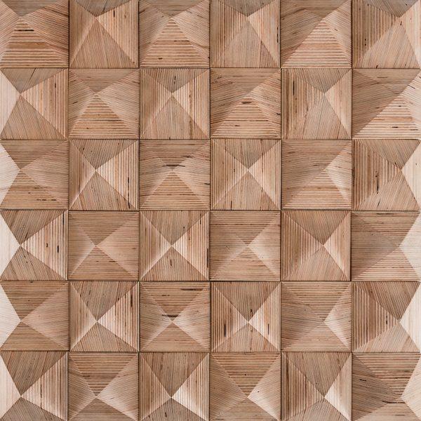 3d wall panel Pyramidec
